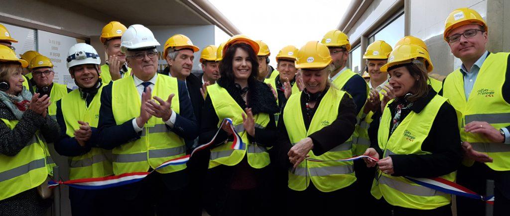 Inauguration tourisme industriel Génissiat