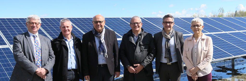 Parce photovoltaïque de La Roche de Glun