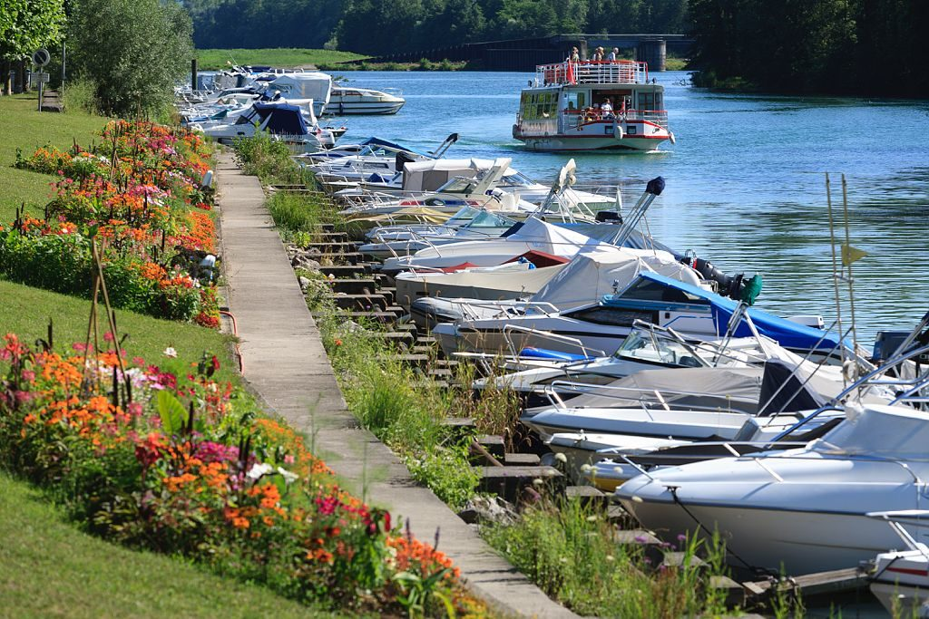 Canal de Saviere, Chanaz, Savoie (73) France