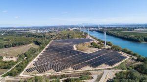 France, Gard (30), Beaucaire, parc photovoltaique, beaucaire, serie 1